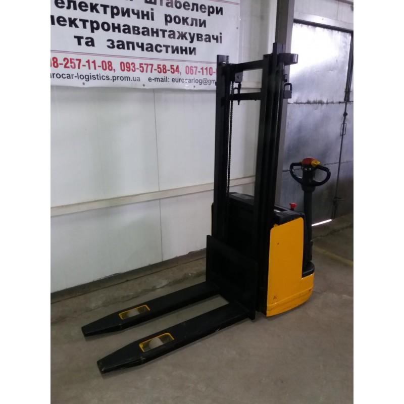 Штабелер електричний повідковий Komatsu MWS12-1R 1,2т 2.9м НОВА АКБ
