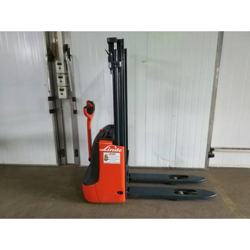 Штабелер електричний повідковий   LINDE L 12  2012 1,2т 2.9 м