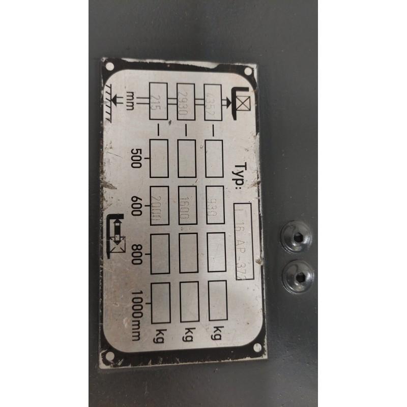 Штабелер електричний повідковий LINDE L 16 AP 1,6т-2т  2.35 м