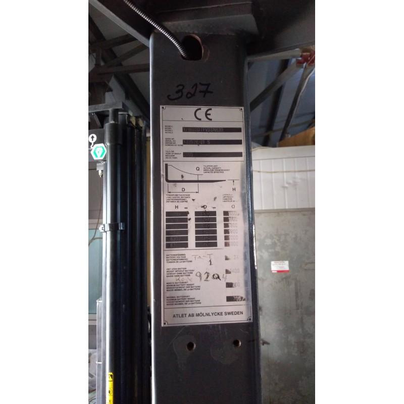 Штабелер електричний самохідний NISSAN Atlet1,6т 6,3м