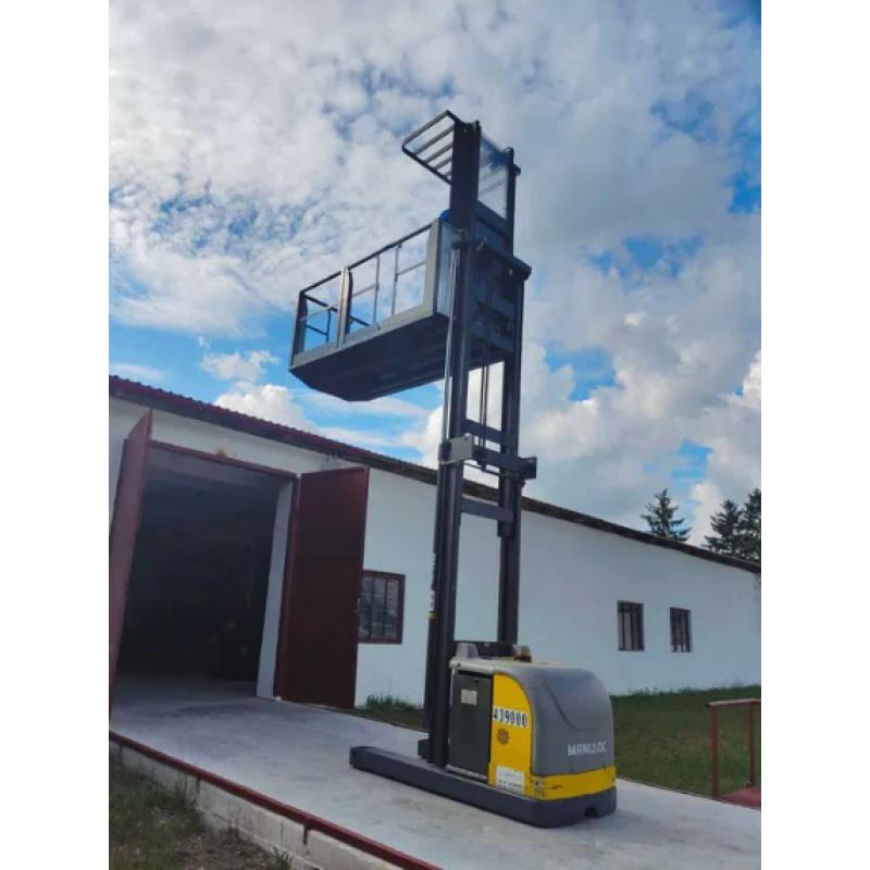 Штабелер электрический самоходный NISSAN Atlet 1т 4.2м