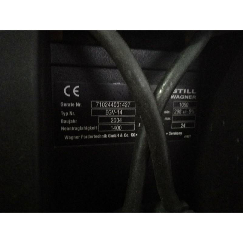 Штабелер електричний повідковий STILL EGV 14 4,7m .