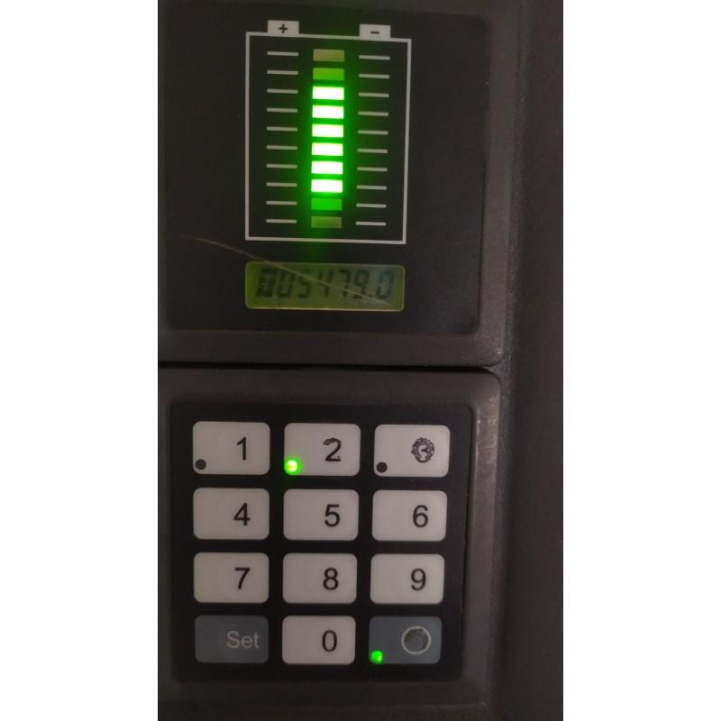 Штабелер електричний повідковий Jungheinrich EJC 216 1,6т 4.18м 2012р