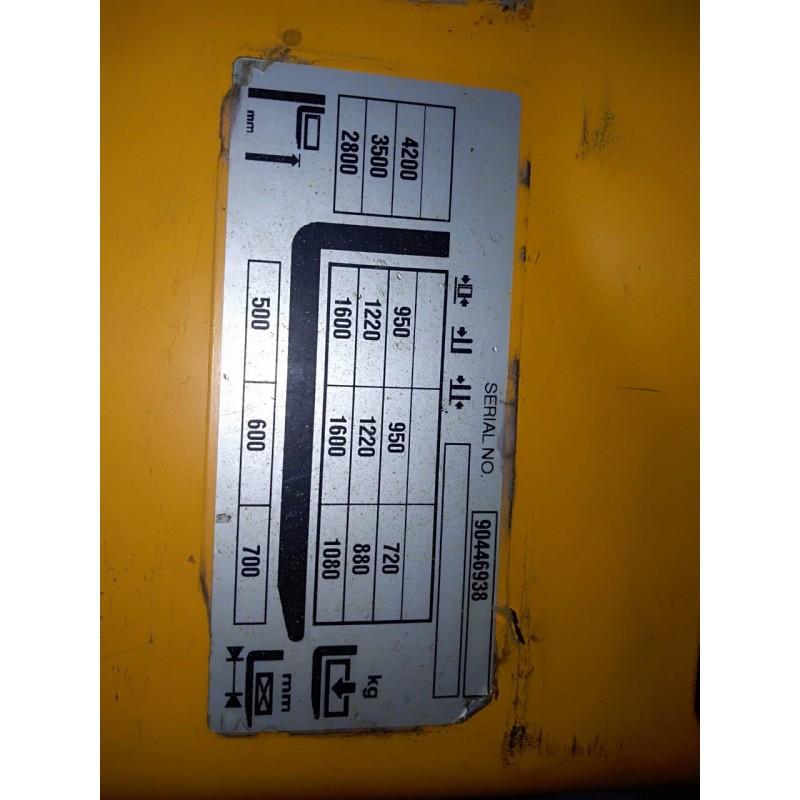Штабелер електричний повідковий Jungheinrich EJC 216 1,6т 4.12м 2014