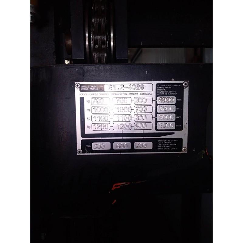 Штабелер електричний самохідний HYSTER 1.2 3,97м