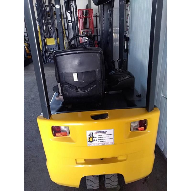 Навантажувач Komatsu FB15-2R електро 1,5т 4.45м
