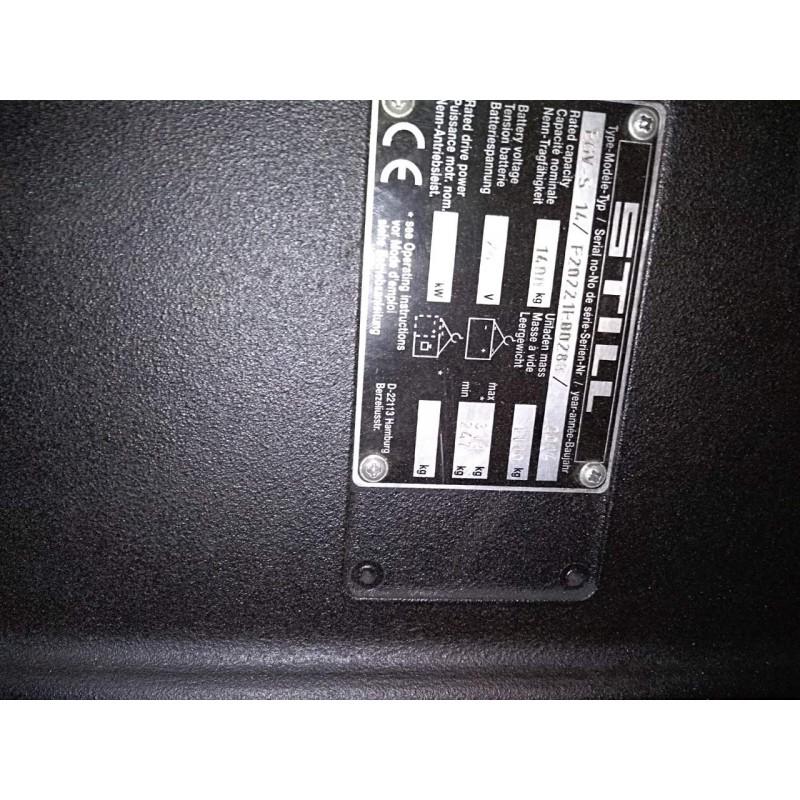 Штабелер електричний повідковий STILL EGV S14  5,475m 2014 Гарантія