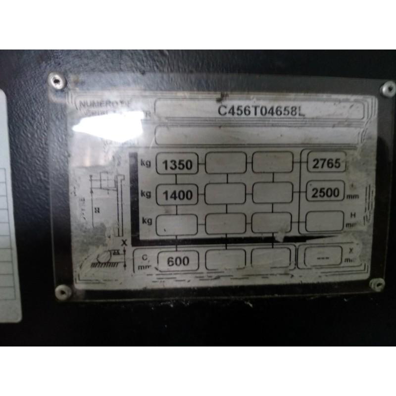 Штабелер електричний самохідний HYSTER S1.4 AC 1.4 3.8 м 2014