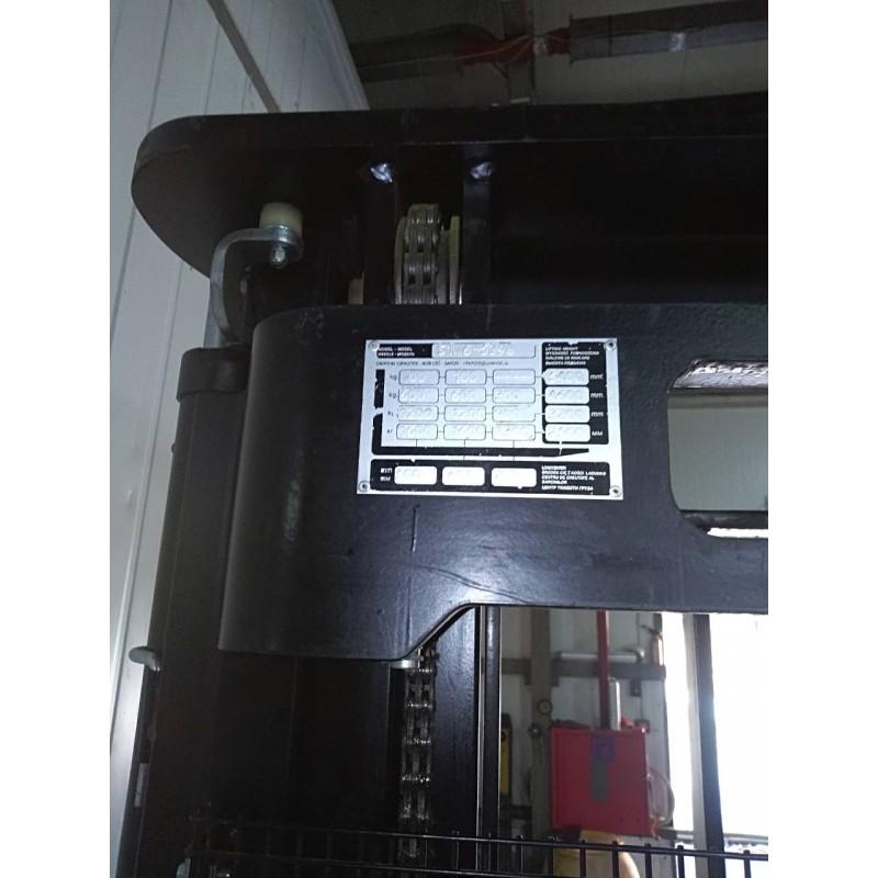 Штабелер електричний самохідний HYSTER S 1.6 5.4м