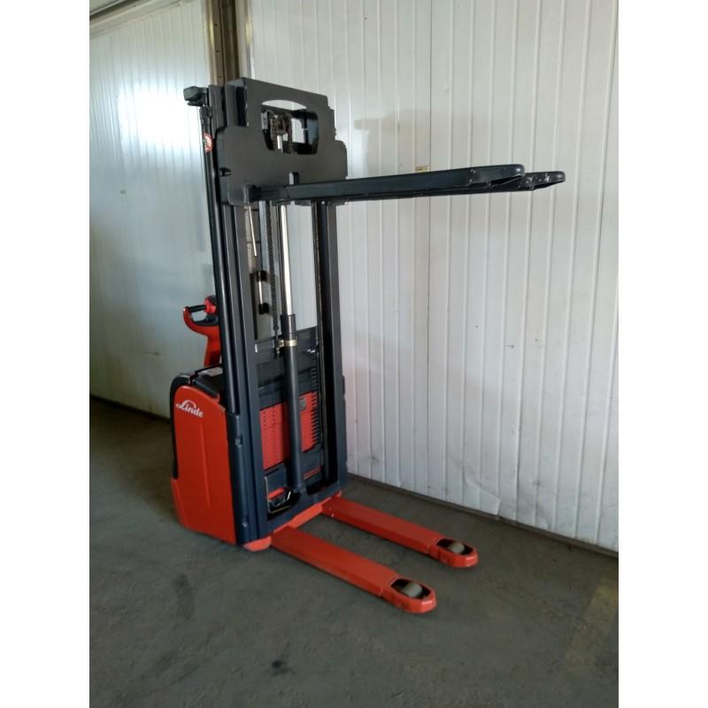 Штабелер електричний повідковий LINDE L16 2007р 3,2м