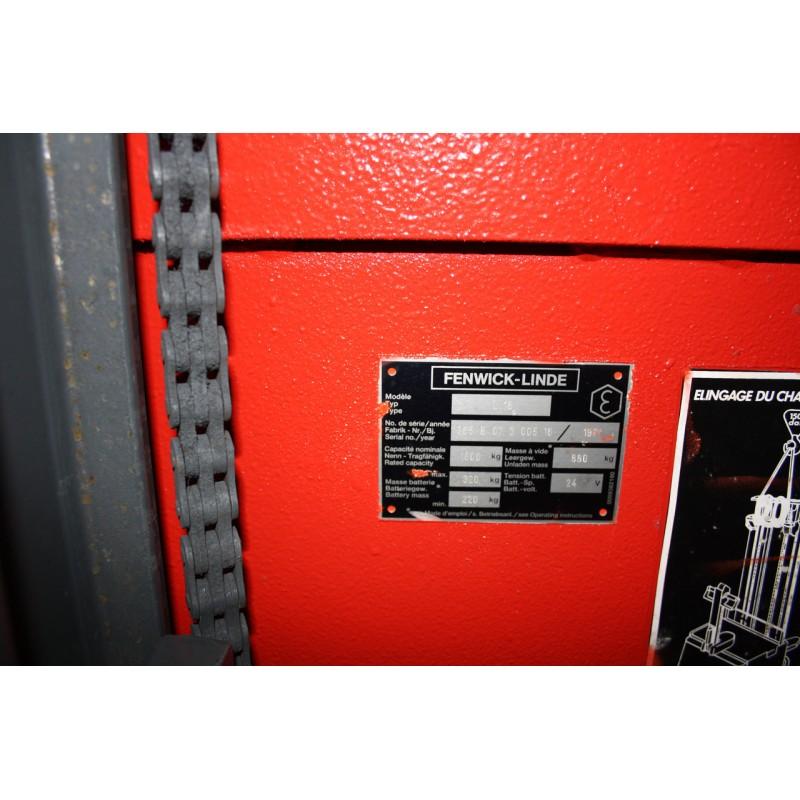 Штабелер електричний LINDE L16 1,6т 3,6м