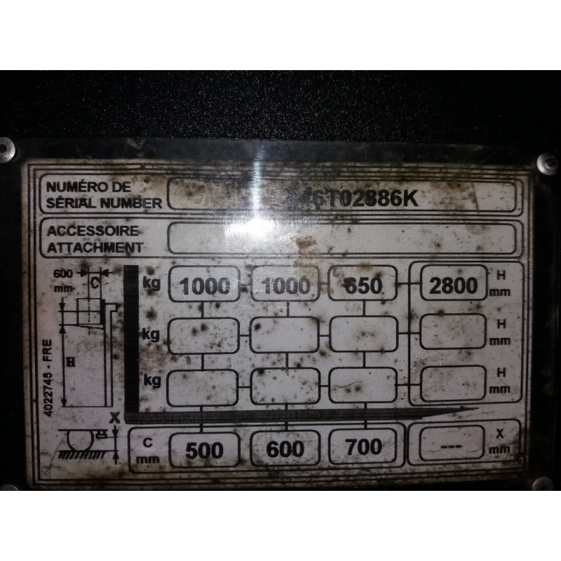 Б / У Штабелер електричний повідковий YALE SM 1.0