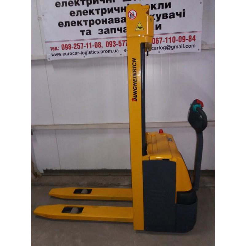 Штабелер електричний повідковий JUNGHEINRICH EJC 110 1,0т 3.2м