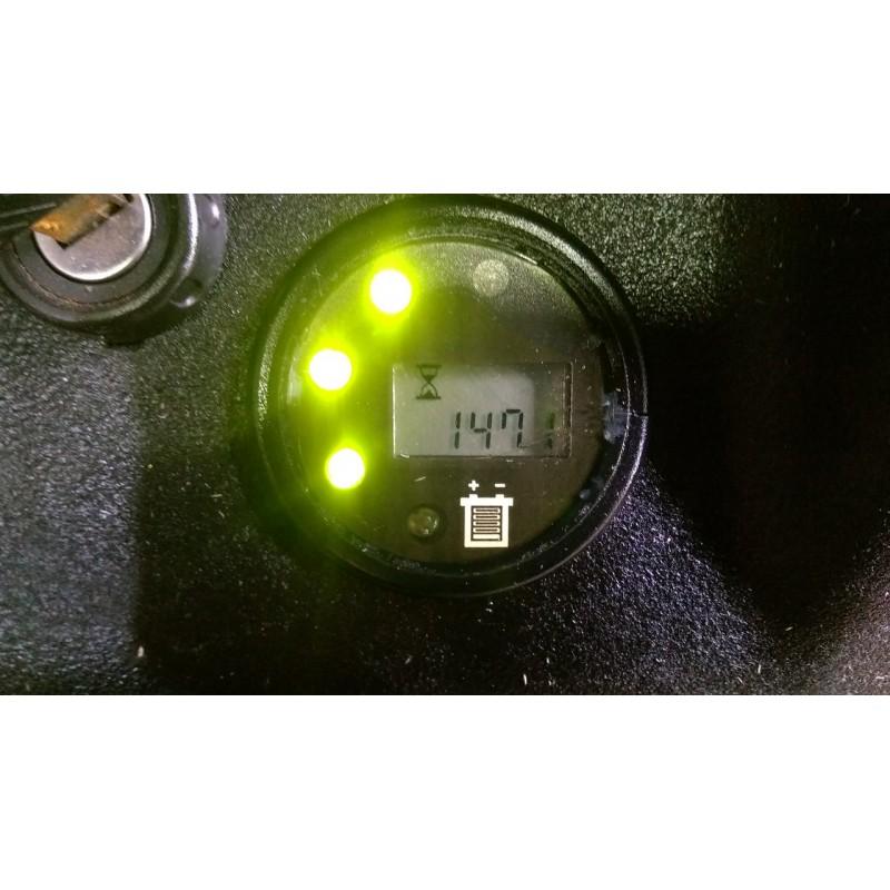 Штабелер електричний повідковий б / у Komatsu 1.2т 4,20м