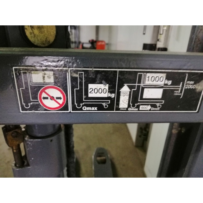 Штабелер електричний самохідний Jungheinrich ERD 220 1т 2м 2012