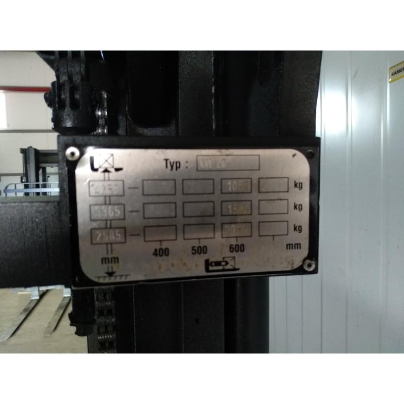 Штабелер електричний повідковий OM Pimespo Komatsu 2т 4,30м