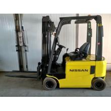 Электропогрузчик Nissan 1.6т 3,2м 2011