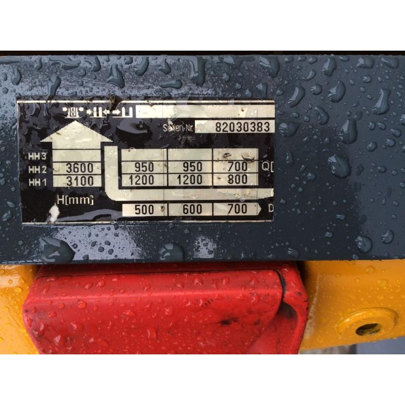 Штабелер електричний повідковий JUNGHEINRICH EJC 12 1,2 т 3,6 2009р
