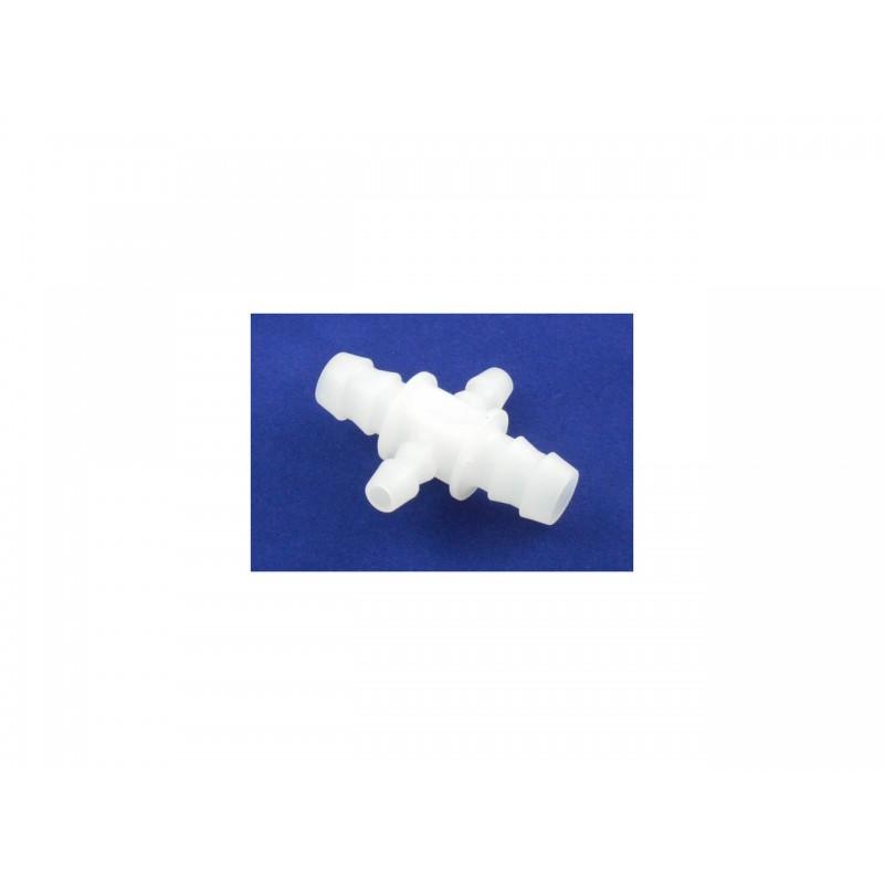 Хрестовий шланговий з'єднювач 2x10mm + 2x6mm