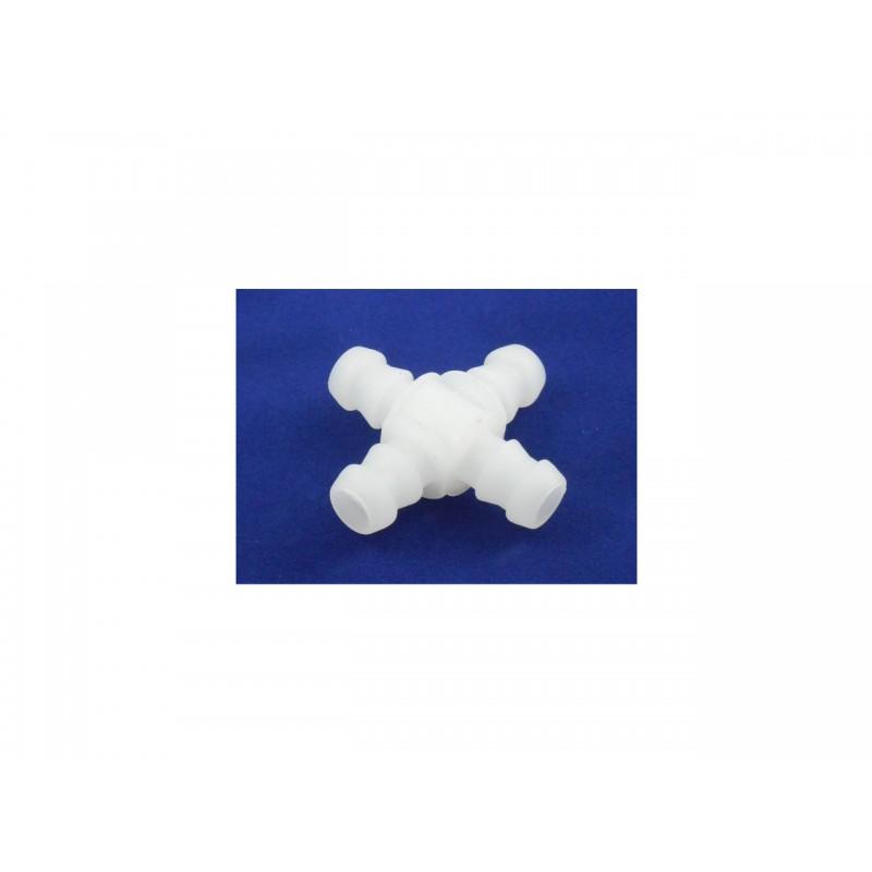 Хрестовий шланговий з'єднювач 10mm