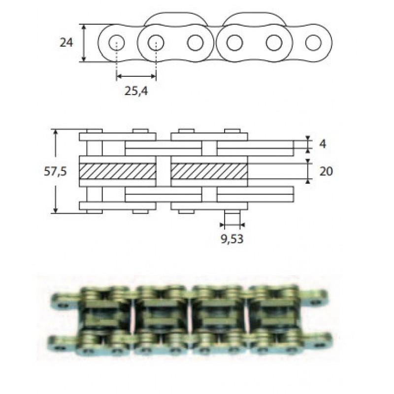 Ланцюг  підйомний 4x4