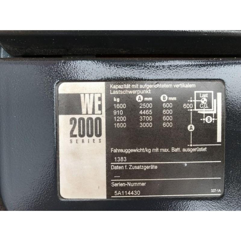 Повідковий електричний штабелер CROWN 2011р Батарея !!! 1,6 т 4,4 м