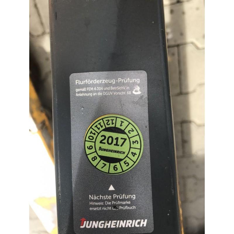 Самохідний електричний візок JUNGHEINRICH EJE 116 2012р.