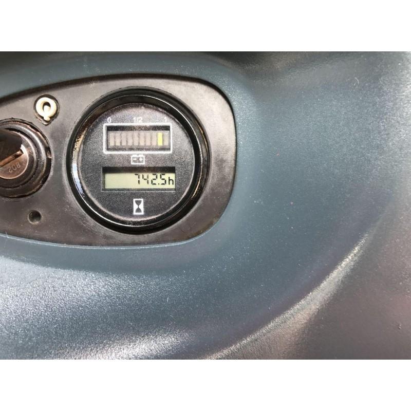 Штабелер електричний повідковий LINDE L 14 1,4т 3,4м-2014р. Батарея !!!