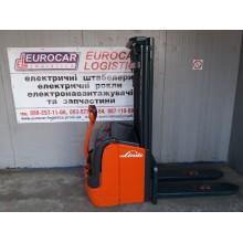 Штабелер електричний повідковий LINDE L16 1.6т 4.2м 2012р