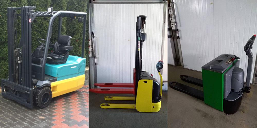 Ассортимент складской погрузочной техники от компании Eurocar-Logistics